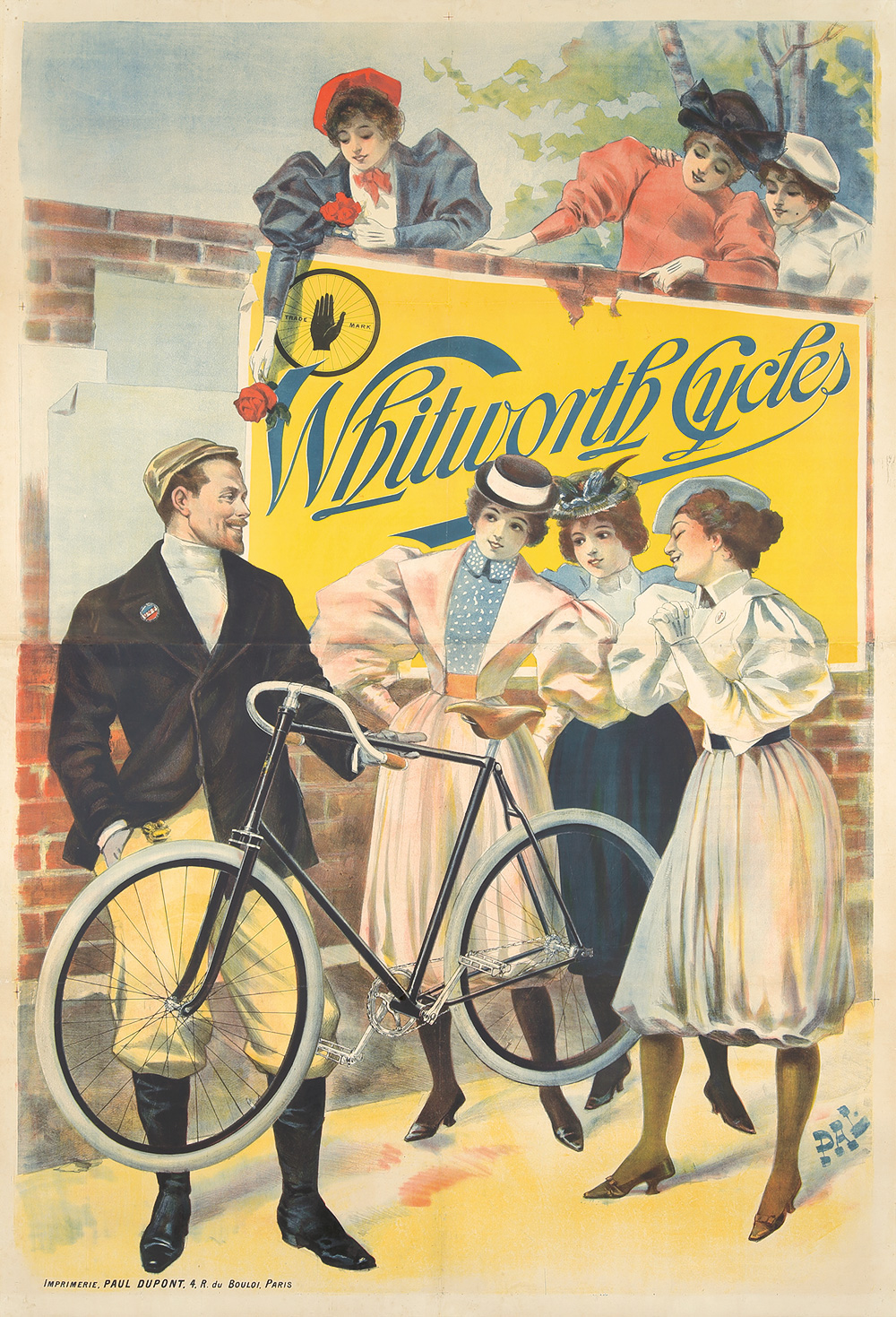 1. Whitworth Cycles. ca. 1894.