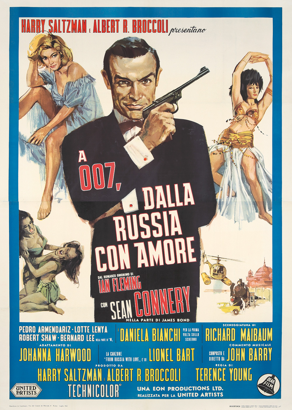 147. James Bond / Dalla Russia Con Amore. 1965.