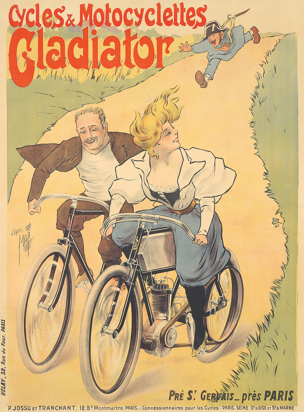15. Cycles & Motocyclettes Gladiator. 1899.
