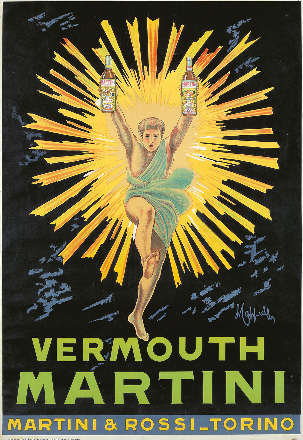 228. Vermouth Martini. ca. 1914.
