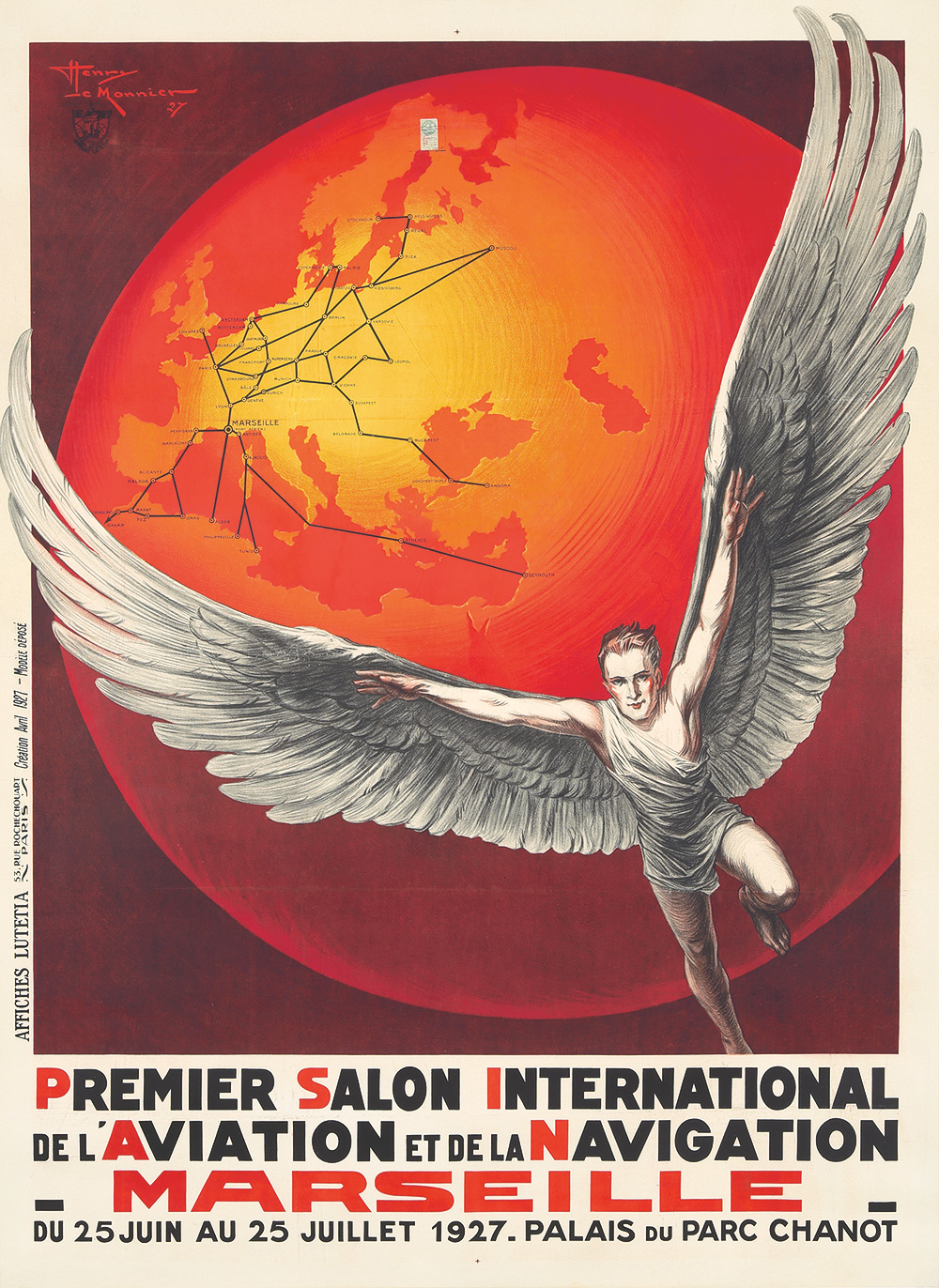79. Premier Salon Int'l de l'Aviation et de la Navigation. 1927.