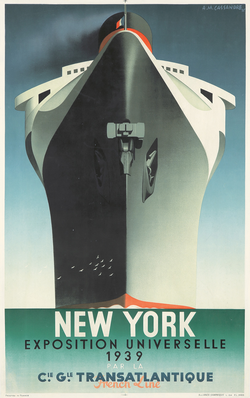 180. Normandie/New York/Exposition Universelle. 1939.