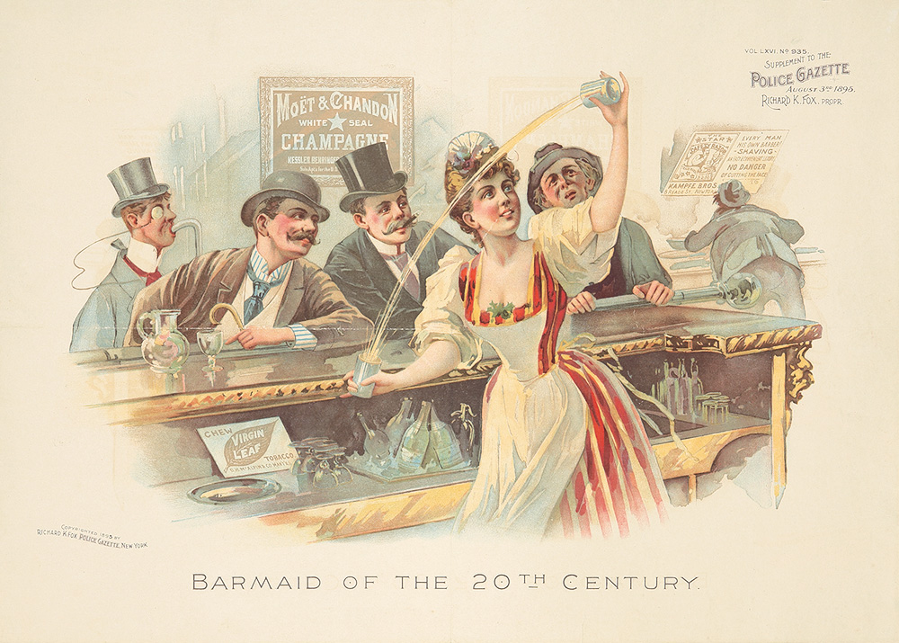 95. Barmaid of the 20th Century. 1895.