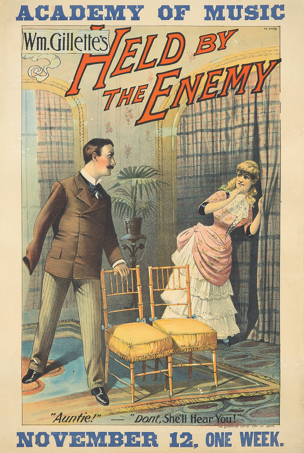 98. Held by the Enemy. 1886.