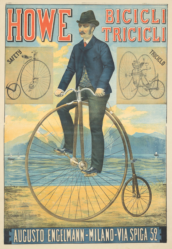 1. Howe Bicicli Tricicli. Ca. 1885. Sold For $8,400