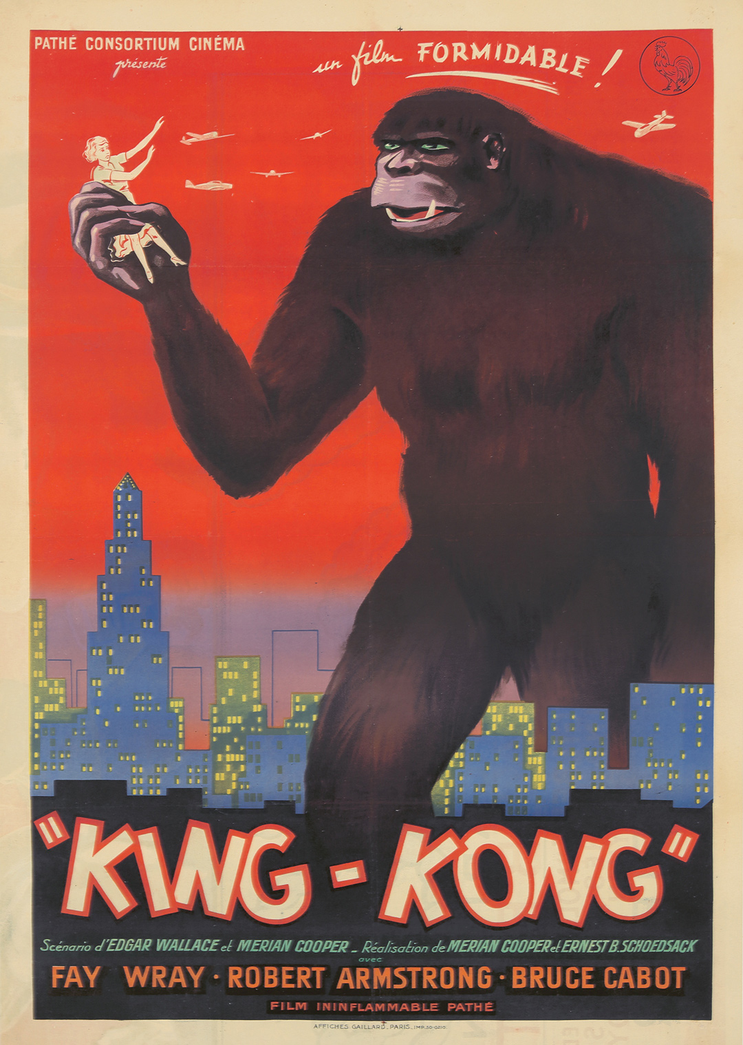 139. Bloch's 1942 King-Kong. ($18,000)