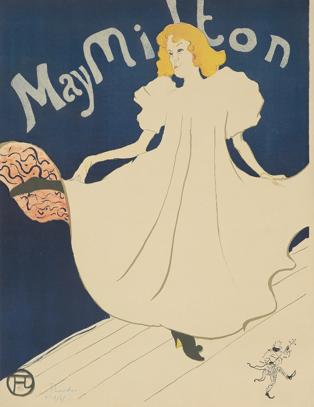 461. Toulouse-Lautrec's May Milton. ($48,000)