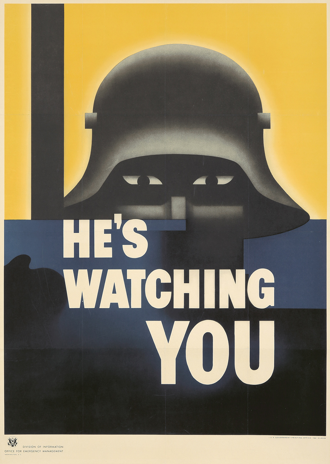 91. He's Watching You. 1942. ($4,080)
