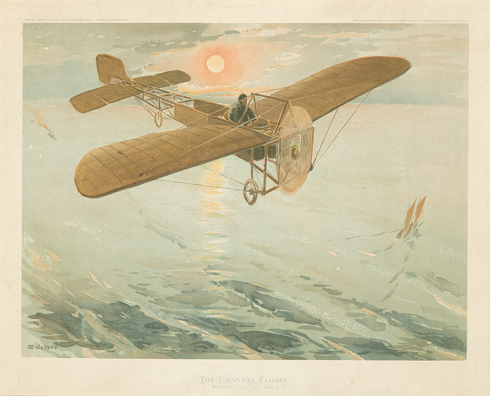 63. The Channel Flight / Bleriot. 1909.