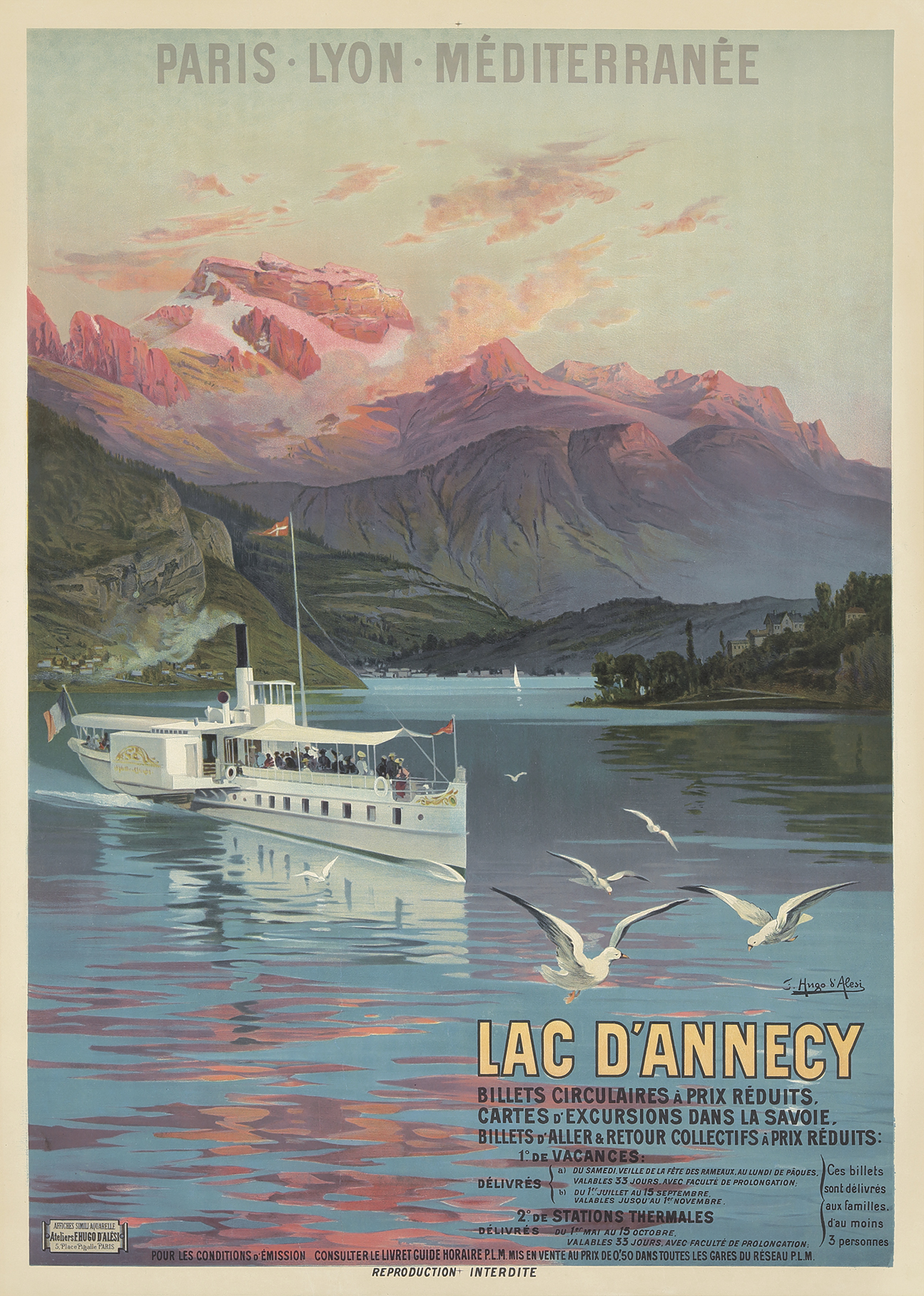 25 Fantastically Retro And Vintage Home Decorations: Vintage Art Deco Travel Posters On Auction February 25, 2018