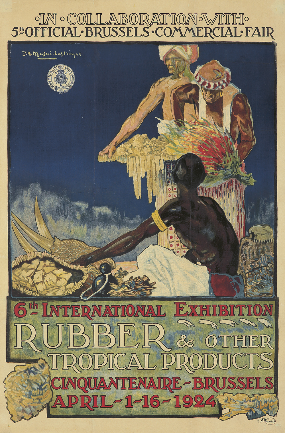 354. 6th International Exhibition/Rubber & Other Tropical Products. 1924.