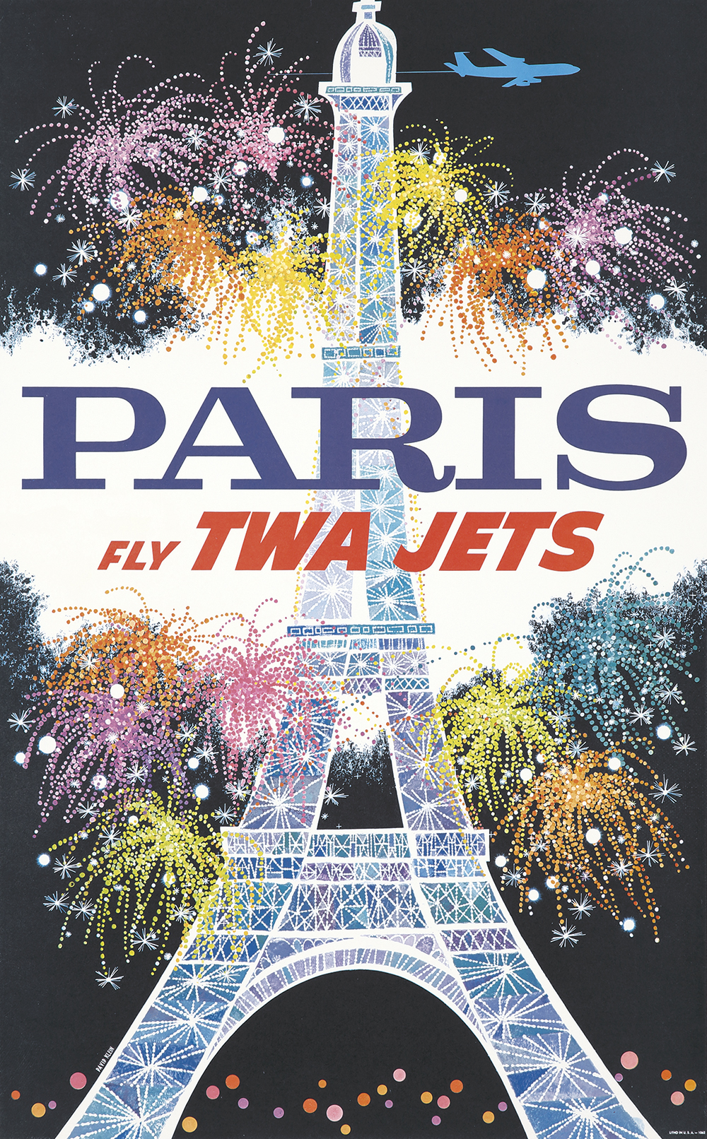 92. Fly TWA Jets / Paris. 1962.