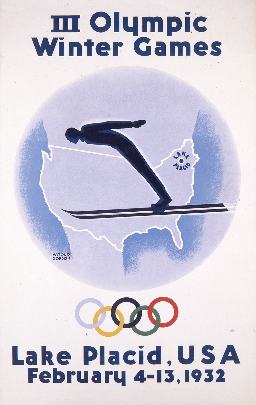 Olympic Winter Games, III/Lake Placid 1932.