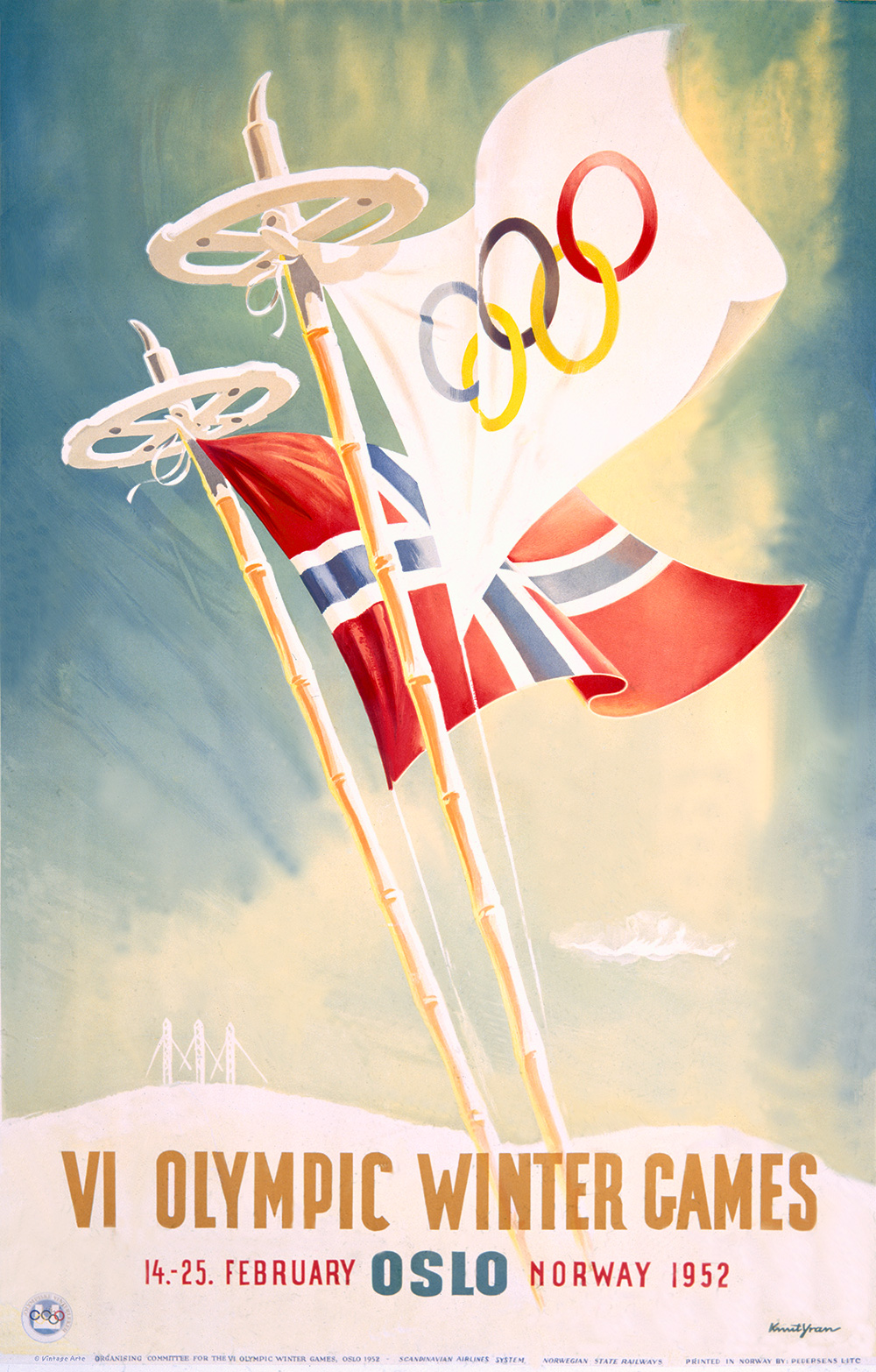 Olympic Winter Games, VI/Oslo 1952.