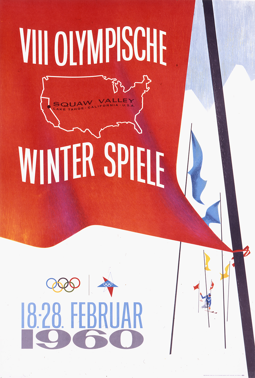 Squaw Valley/Olympique D'Hiver 1960.