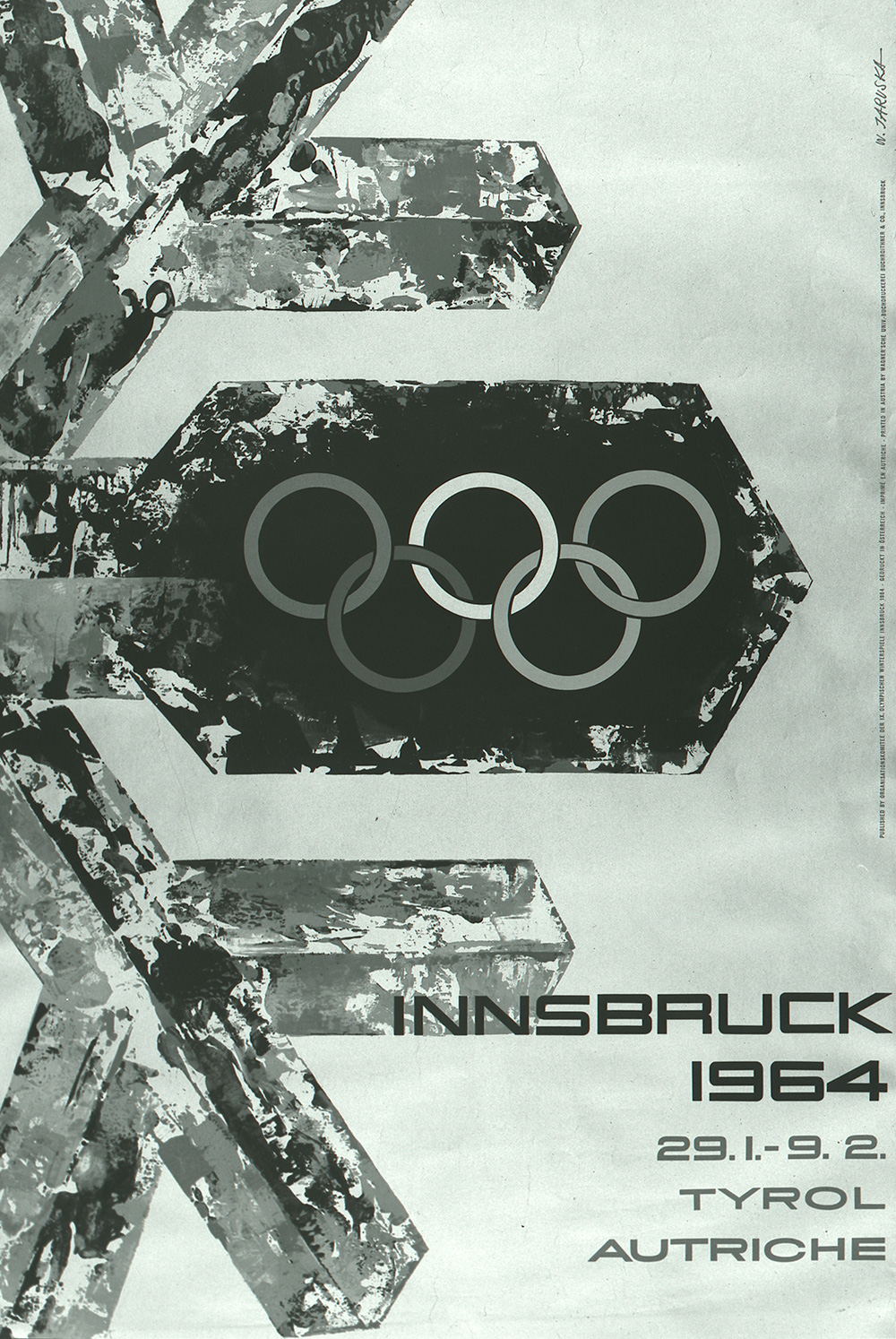 Winter Olympics: Innsbruck. 1964.