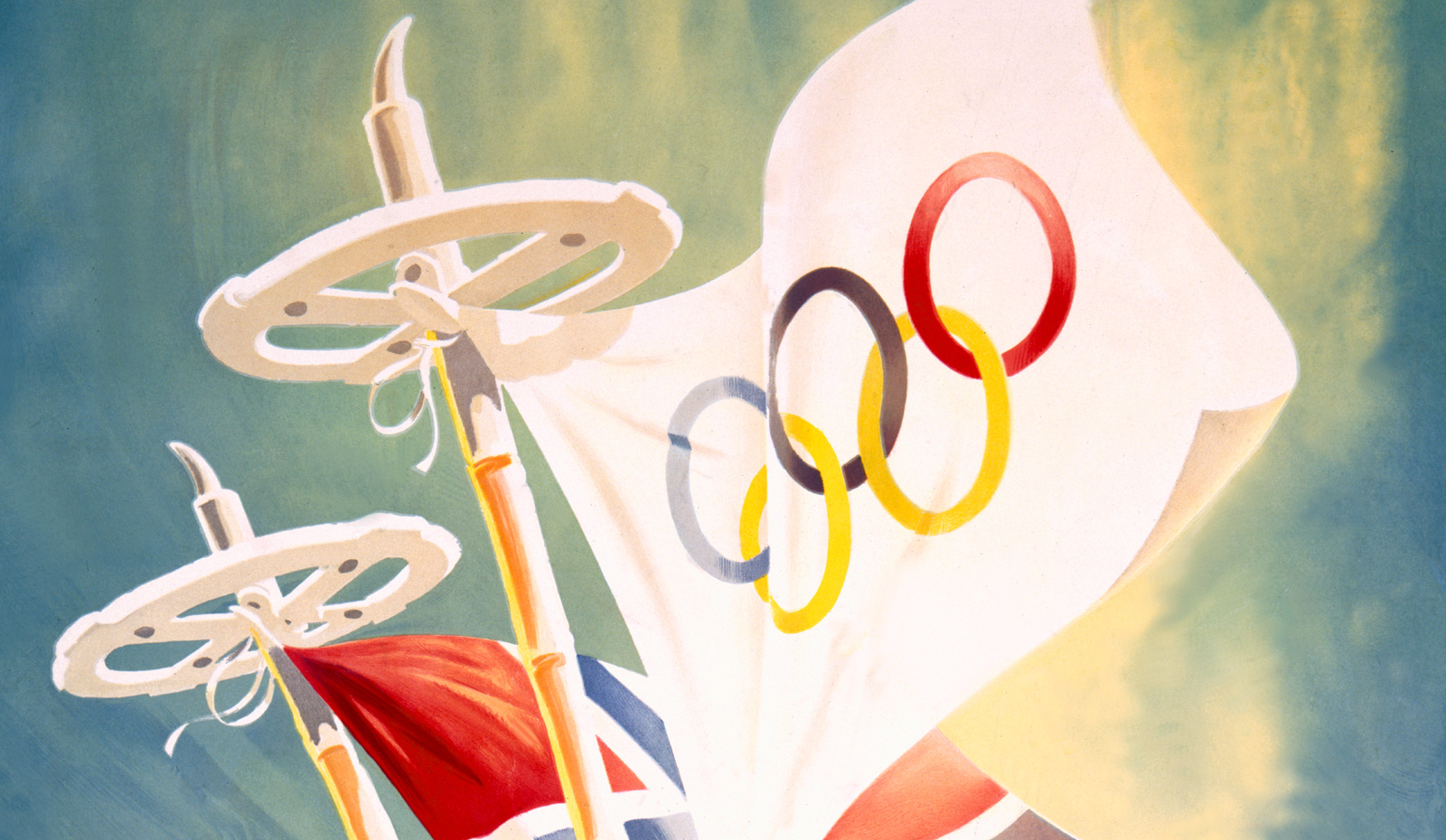 Poster Art Of The Winter Olympics