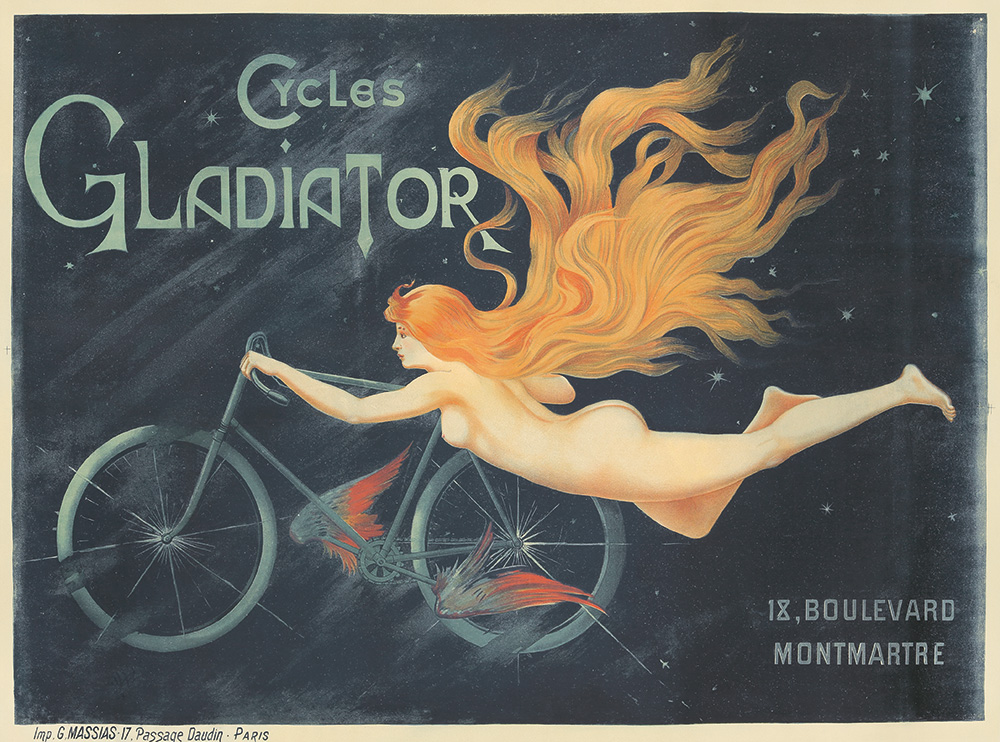 1. Cycles Gladiator. Ca. 1895.