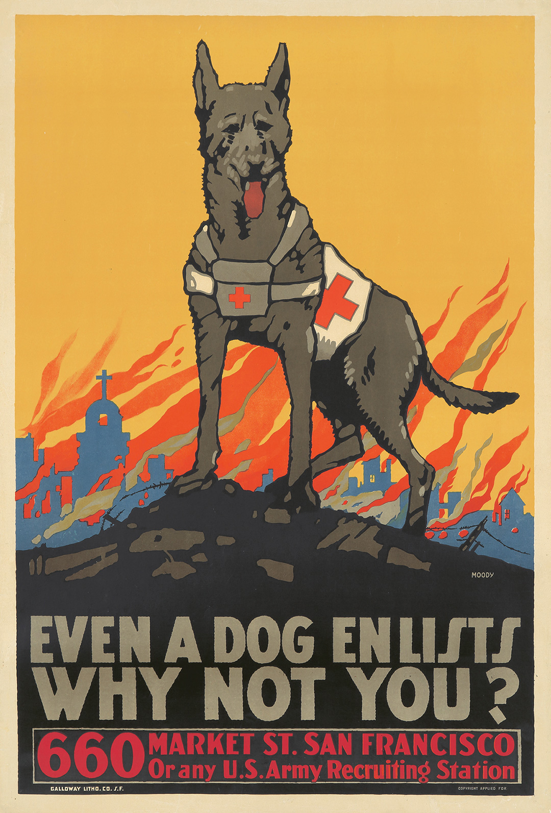 105. Even a Dog Enlists.