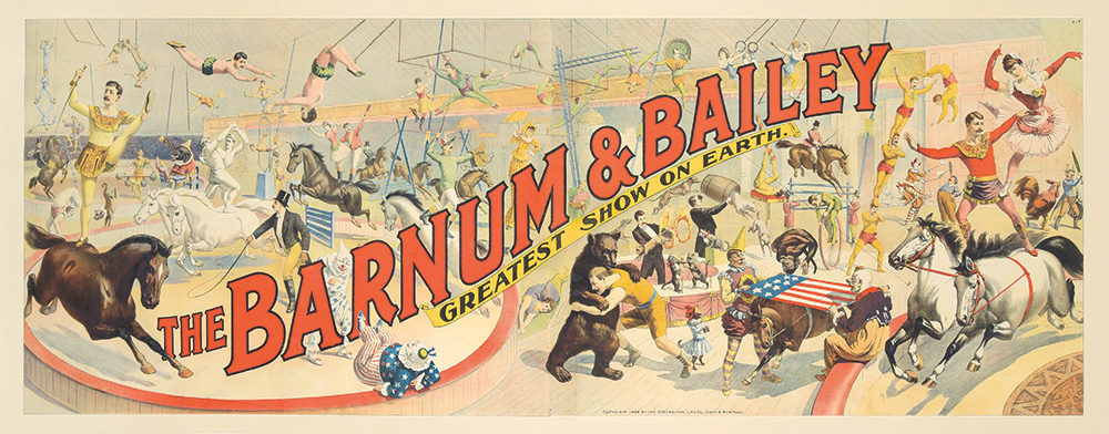 109. Barnum & Bailey / Greatest Show on Earth. 1894.