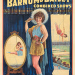 117. Ringling Bros And Barnum & Bailey / Dainty Miss Leitzel. 1929.