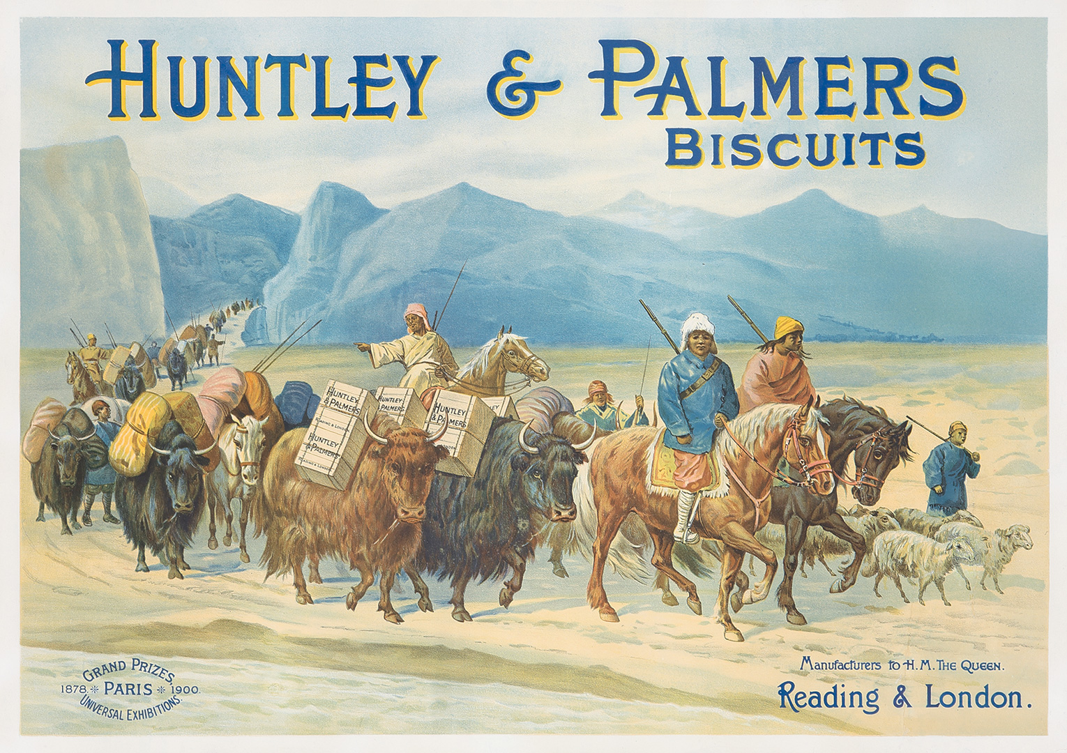 137. Huntley & Palmers Biscuits.