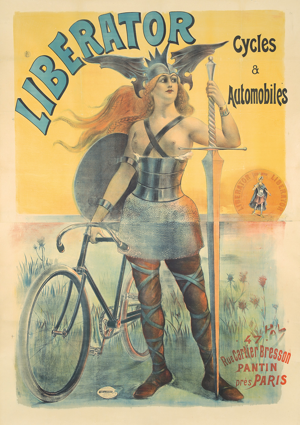 14. Liberator Cycles & Automobiles. 1899.
