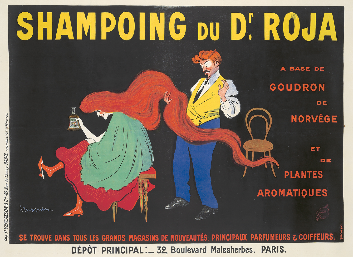 148. Shampoing du Dr. Roja. 1907.