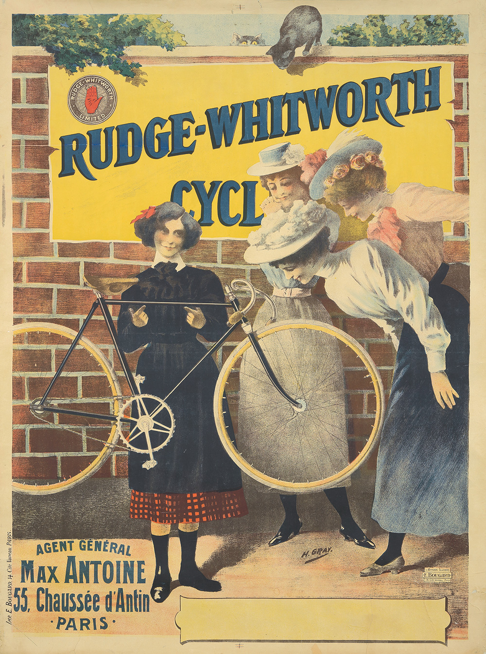 18. Rudge-Whitworth. Ca. 1900.