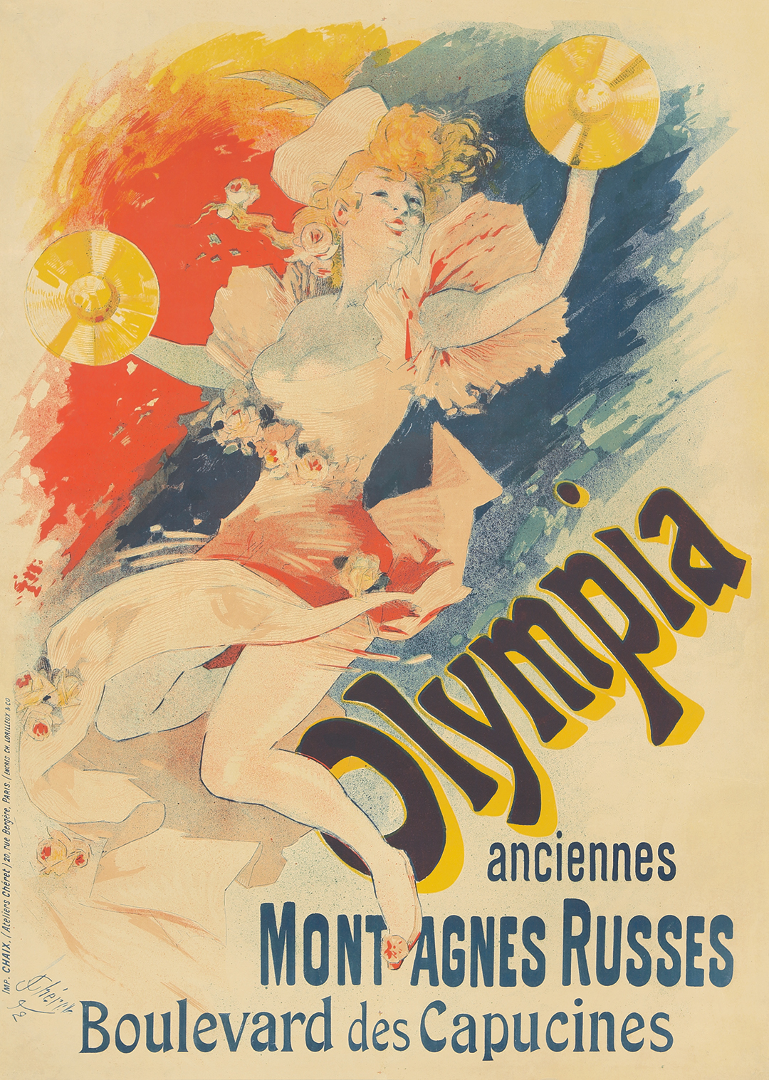183. Olympia / Anciennes Montagnes Russes. 1892.