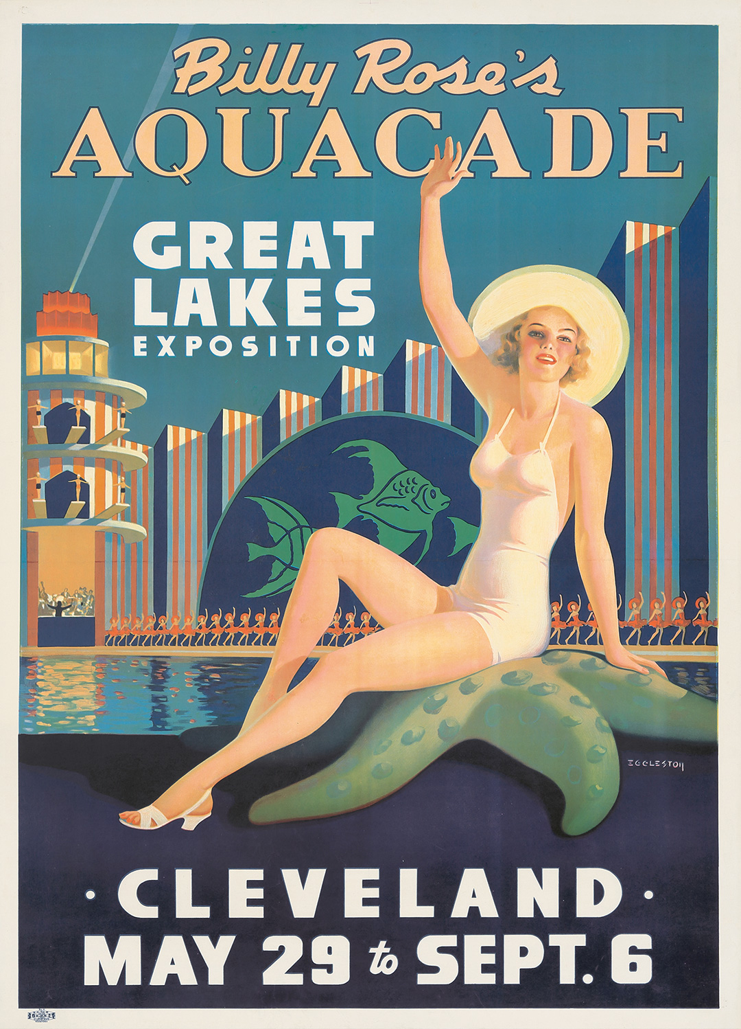 268. Billy Rose's Aquacade. 1937.