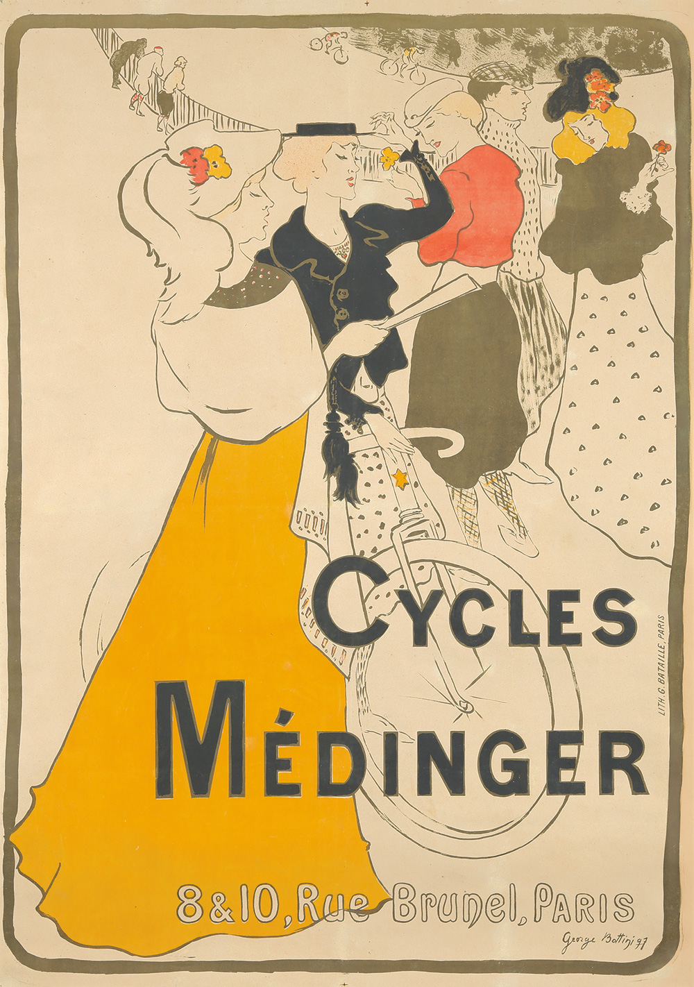 3. Cycles Médinger. 1897.