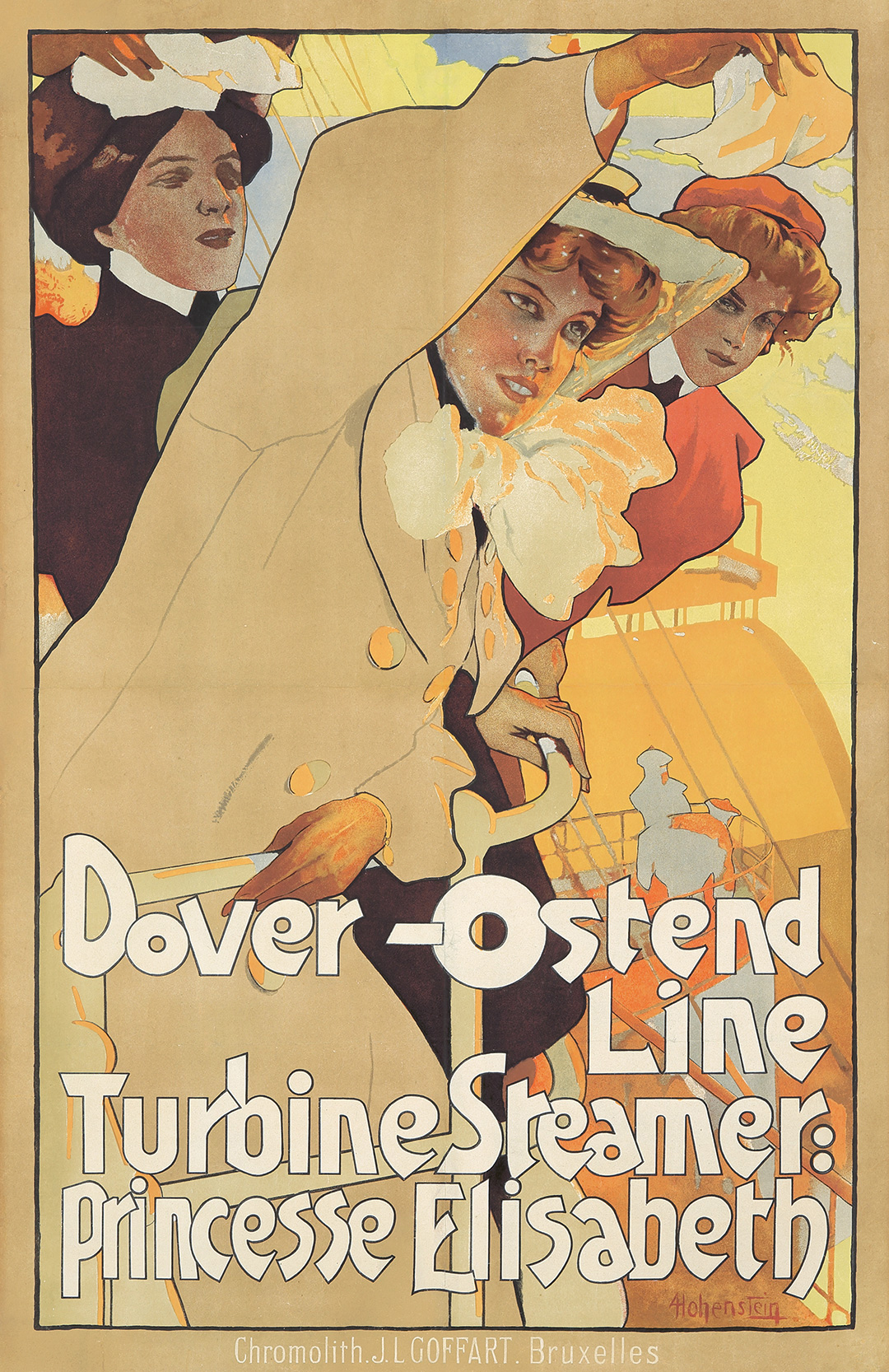 304. Dover-Ostend Line. ca. 1907.