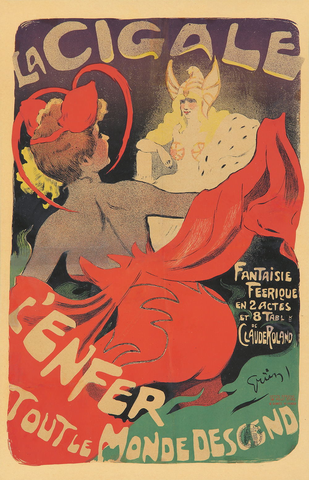 336. La Cigale/L'Enfer. 1902.