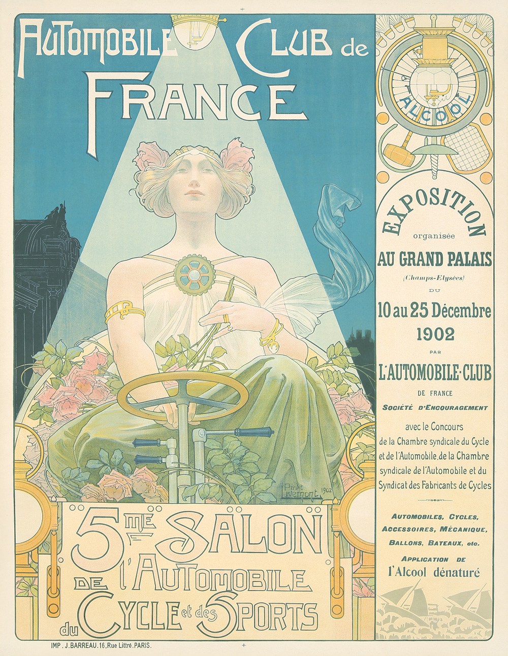 39. Automobile Club de France/5me Salon. 1902.