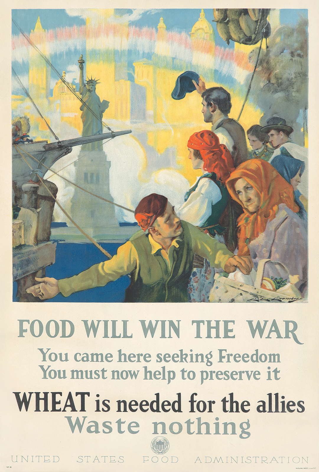 78. Food Will Win the War. 1917.