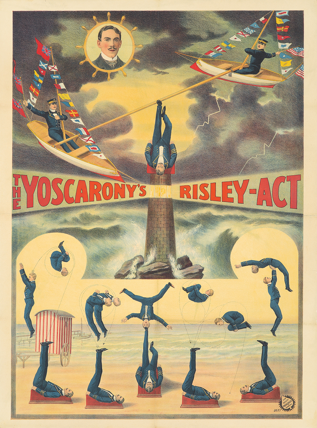 132. The Yoscarony's Risley Act. 1903.