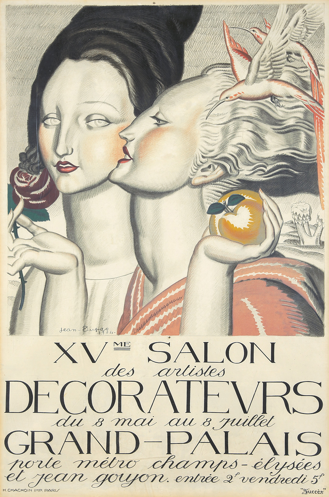 263. XVme Salon Des Artistes Decorateurs. 1924. ($12,000)