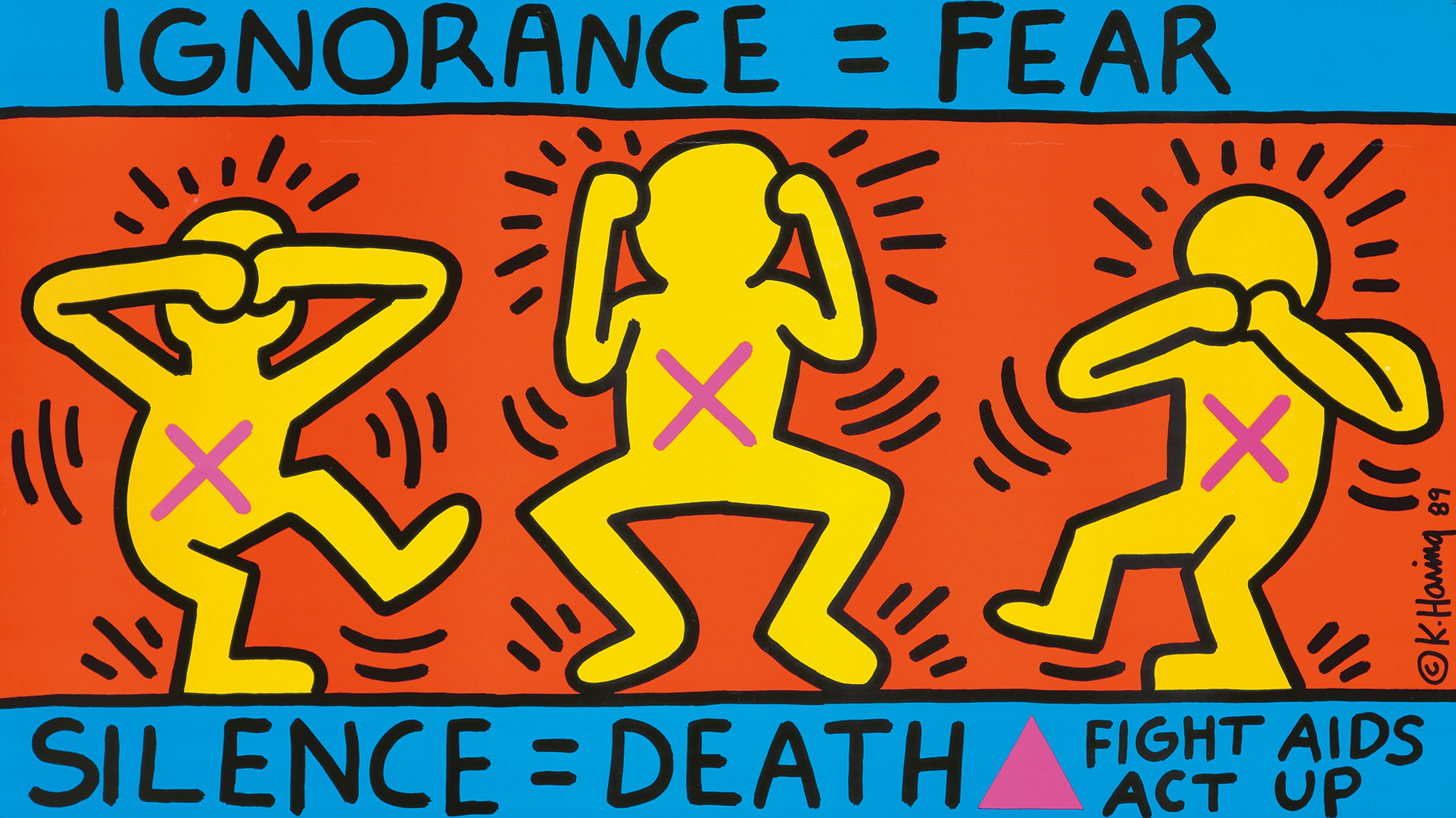 298. Act Up / Ignorance = Fear. 1989.