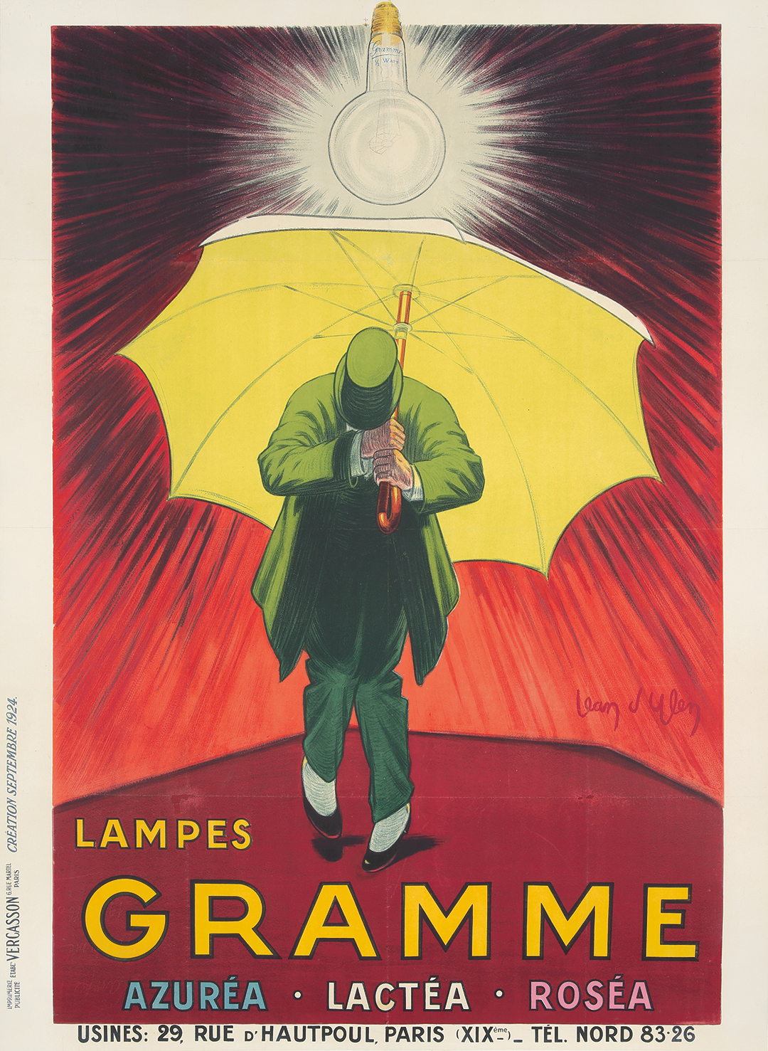 457. Lampes Gramme. 1924.