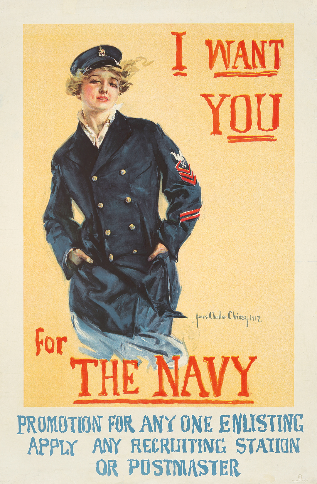 85. I Want You For the Navy. 1917.
