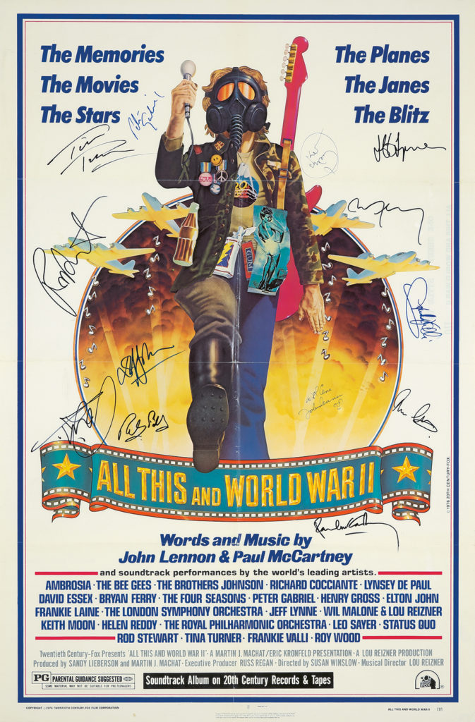 124. All This and World War II. 1976.