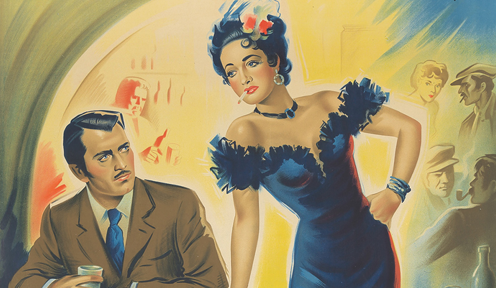 Images Of Desire And Danger: The Femme Fatale In Posters
