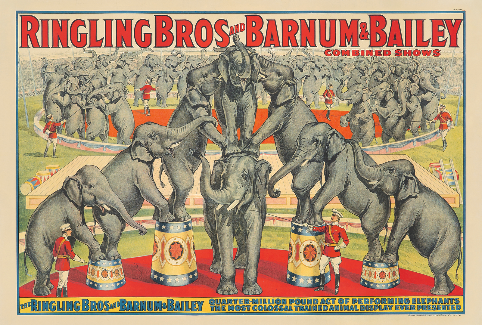29. Ringling Brothers and Barnum & Bailey / Performing Elephants.