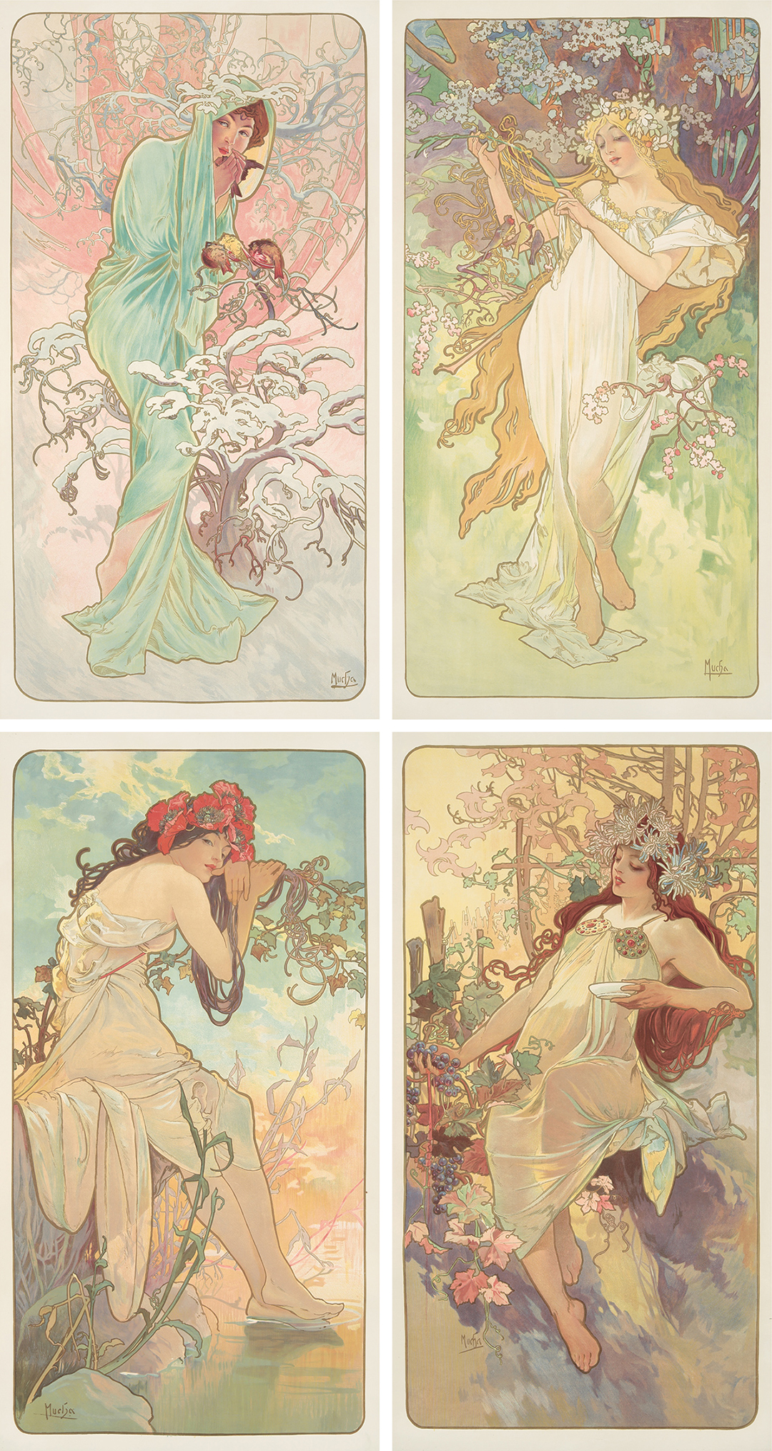 294. The Seasons. 1896.