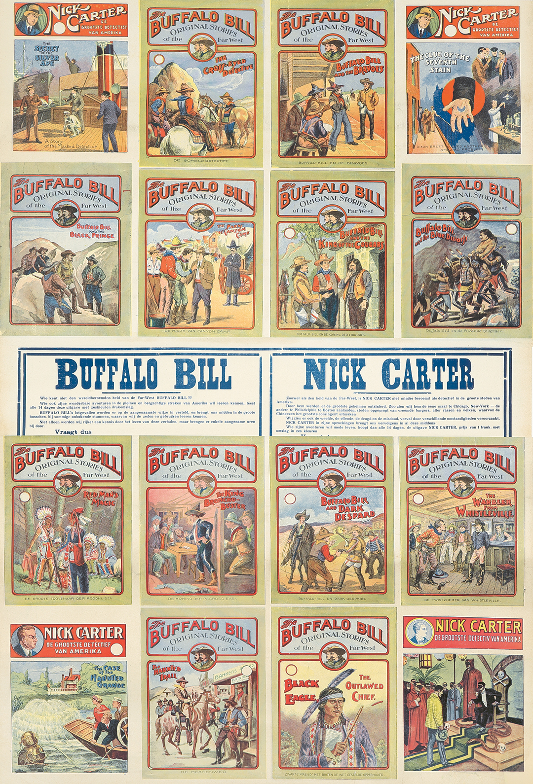 416. Buffalo Bill Stories.