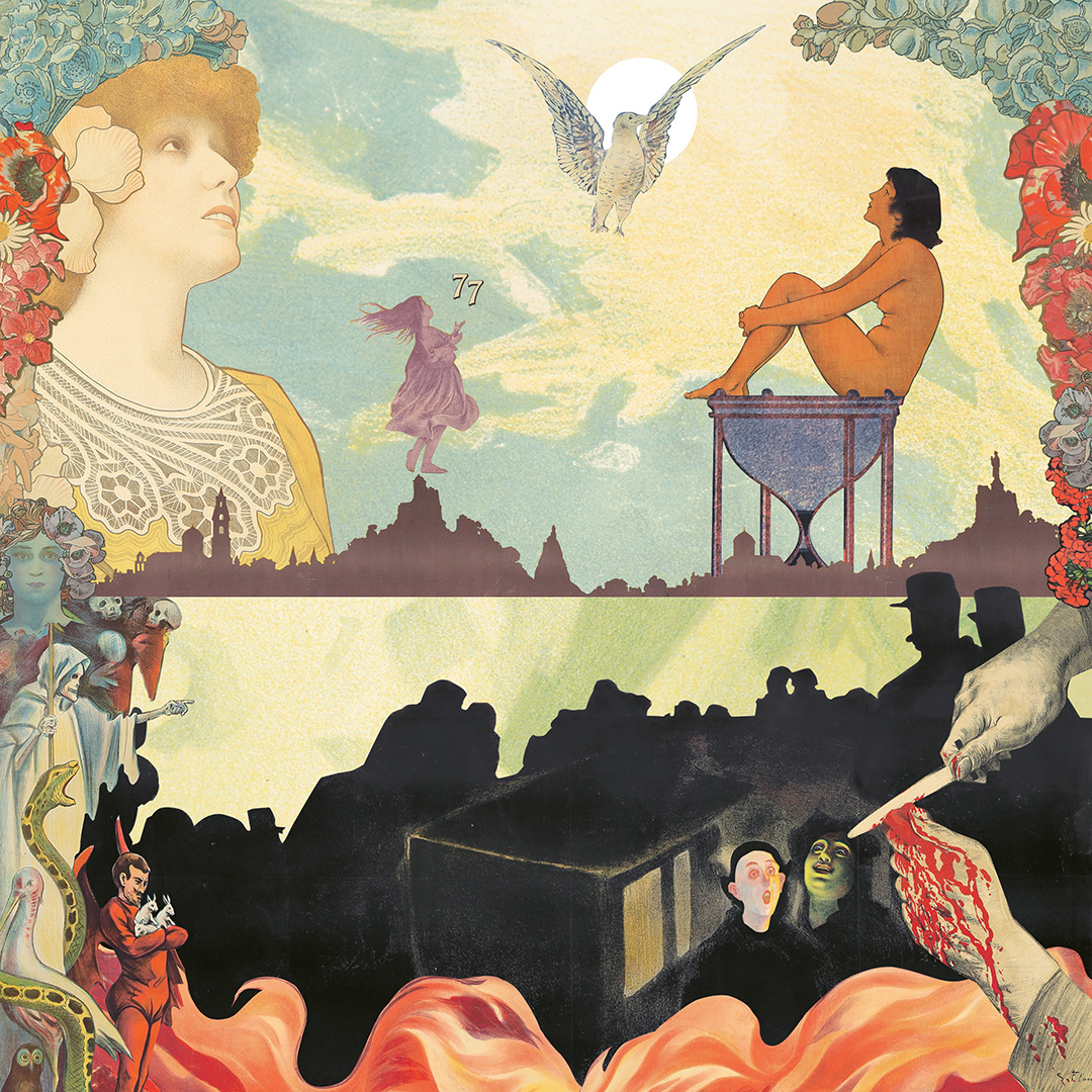 Art Nouveau Collage