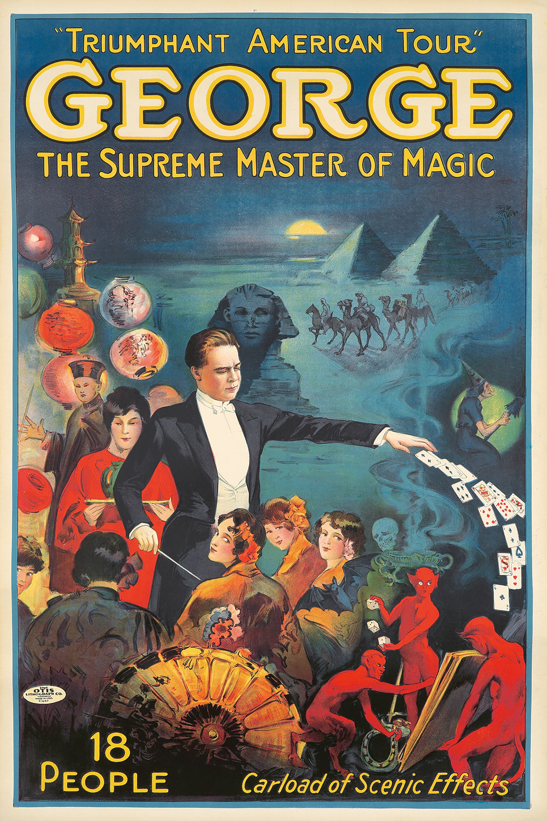 112. George / The Supreme Master of Magic. ca. 1929.