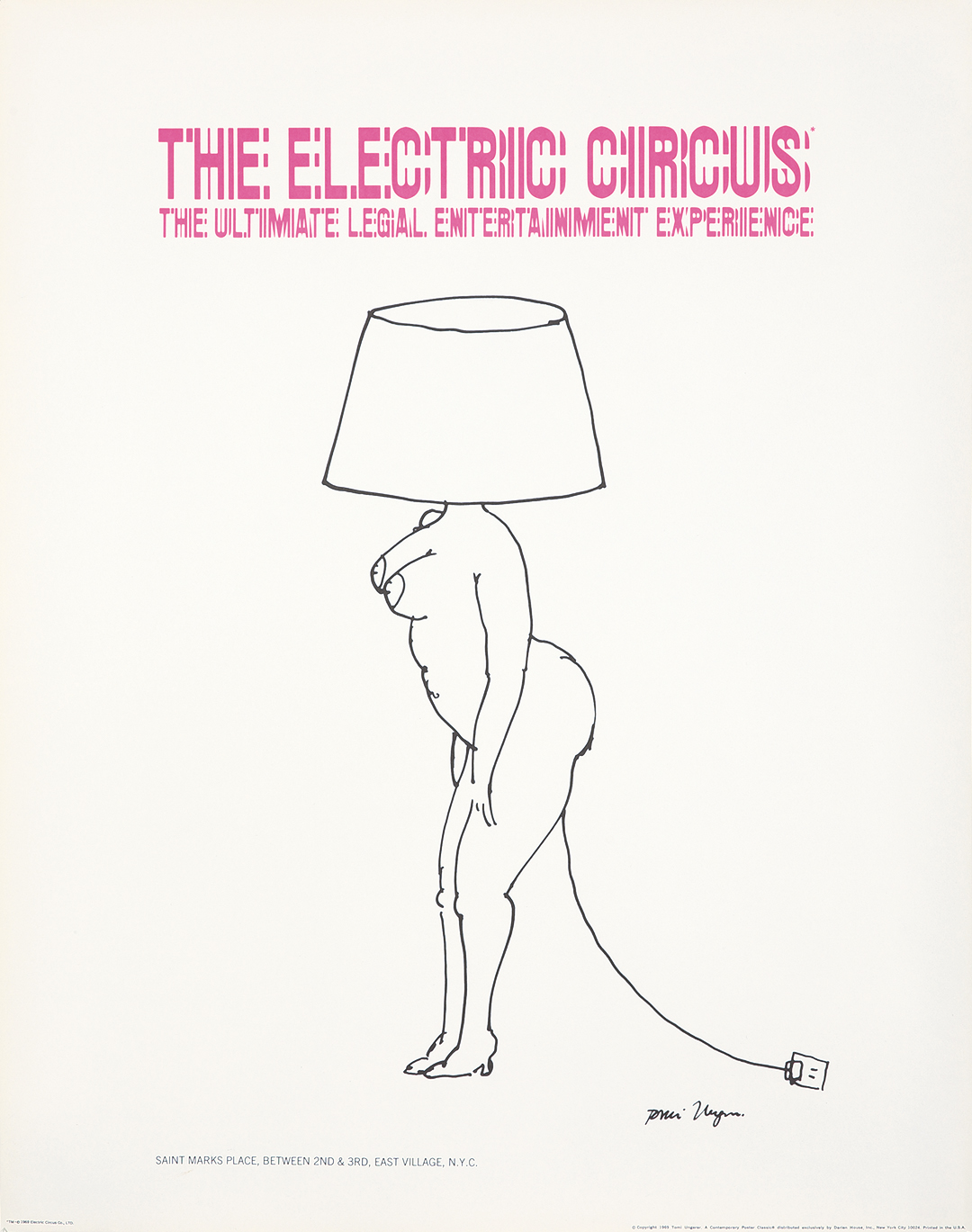 The Electric Circus. 1969.