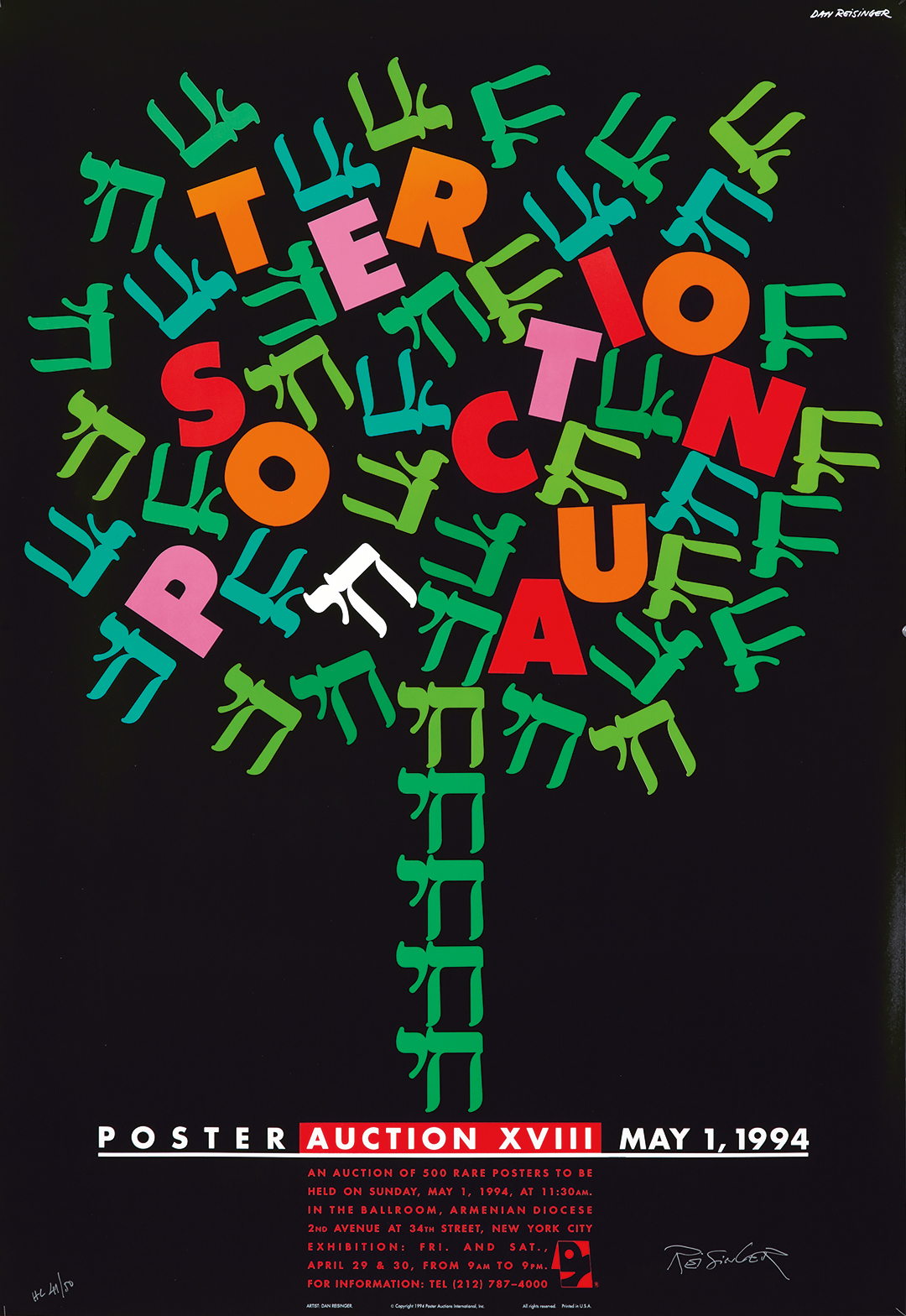 Poster Auction XVIII. 1994.